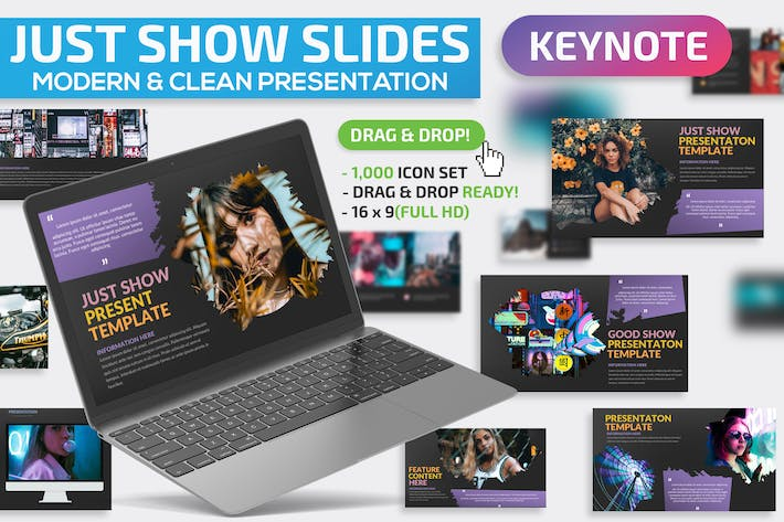 Thumbnail for Just Show Keynote Presentation