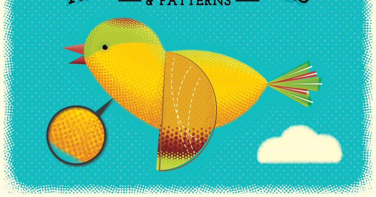 Download Halftone Brushes + Bonus Patterns by JRChild