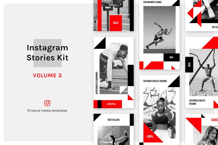 Thumbnail for Instagram Stories Kit (Vol.3)