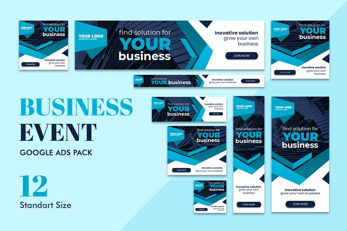 Thumbnail for Google Ads Web Banner Business Event