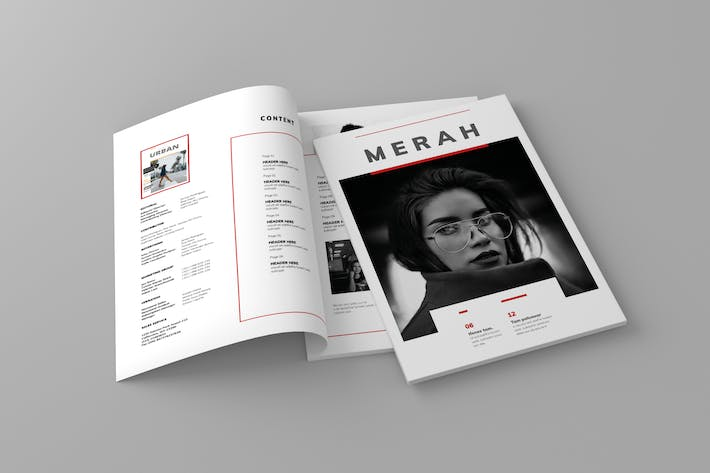 Thumbnail for Magazine Template Vol. 4