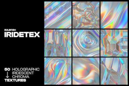 Iridetex - Holographic Iridescent Textures Pack