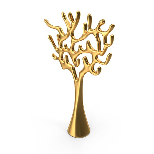Thumbnail for Tree Sculpture Gold