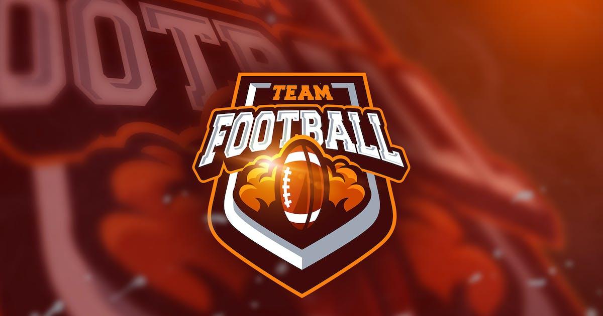 Download Football king - Mascot & Esport Logo by aqrstudio