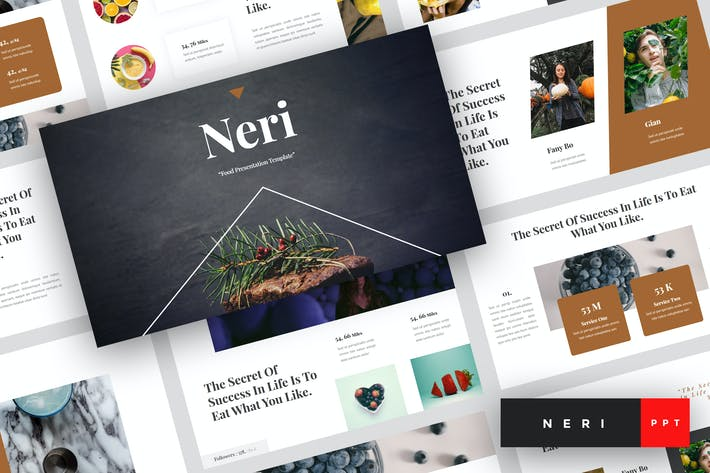 Thumbnail for Neri - Food PowerPoint Template