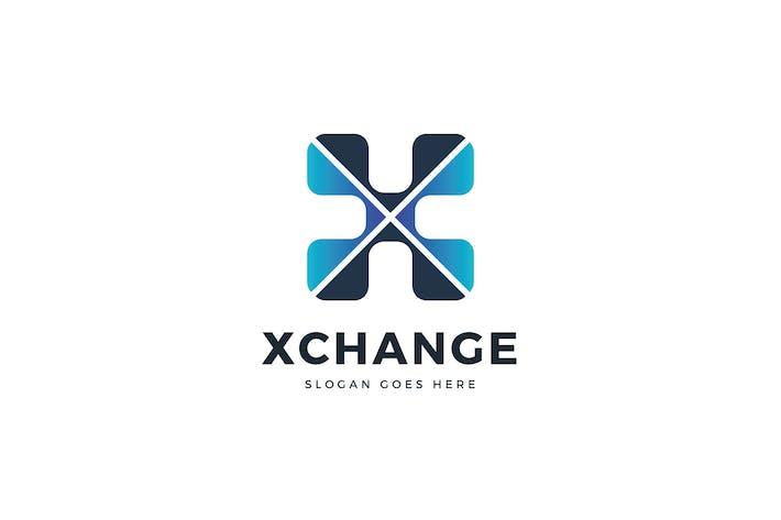 Thumbnail for X Letter Logo Template