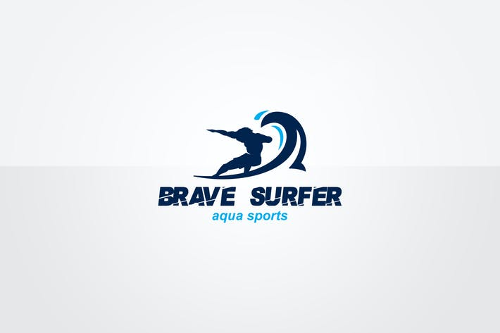 Thumbnail for Surf Logo Template