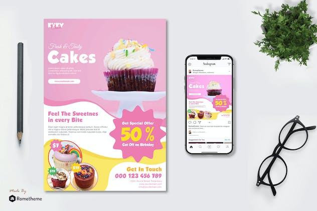 Cake Promotion vol.01 - Flyer TY