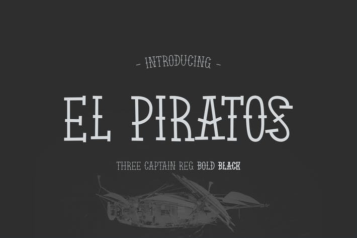 Thumbnail for EL PIRATOS - Fuente Tatuaje Marinero