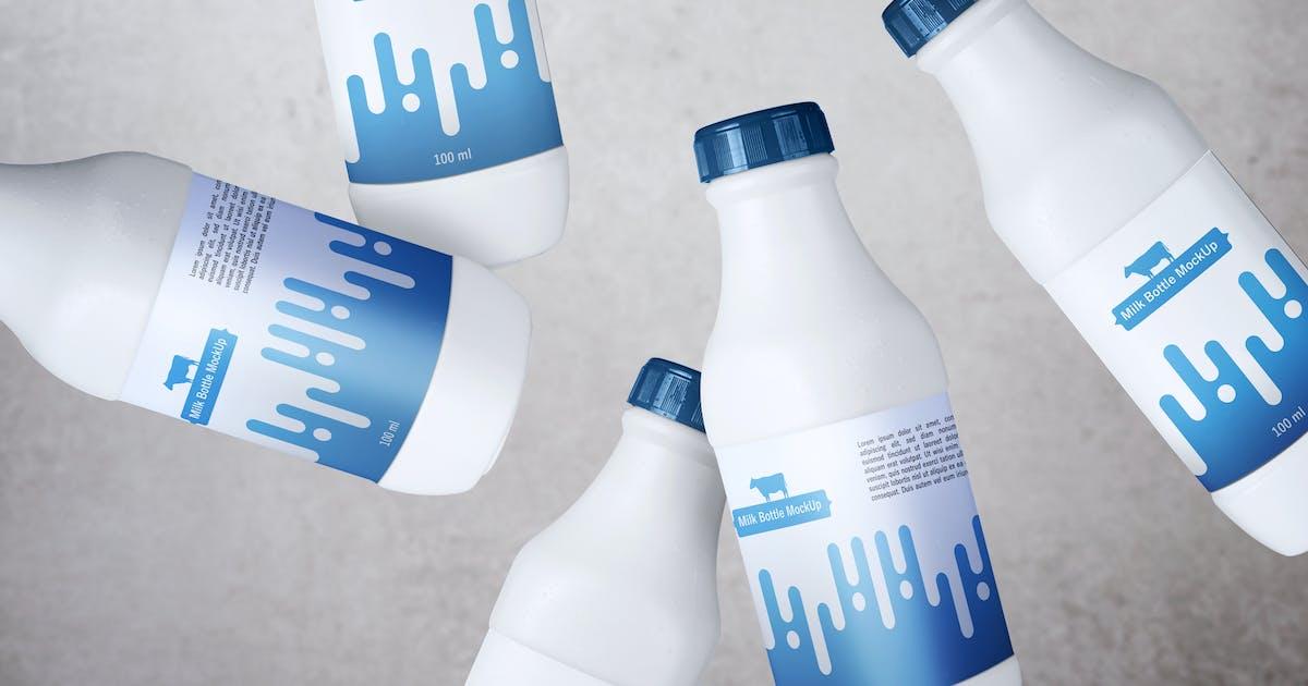Download Milk Bottle V.1 by QalebStudio