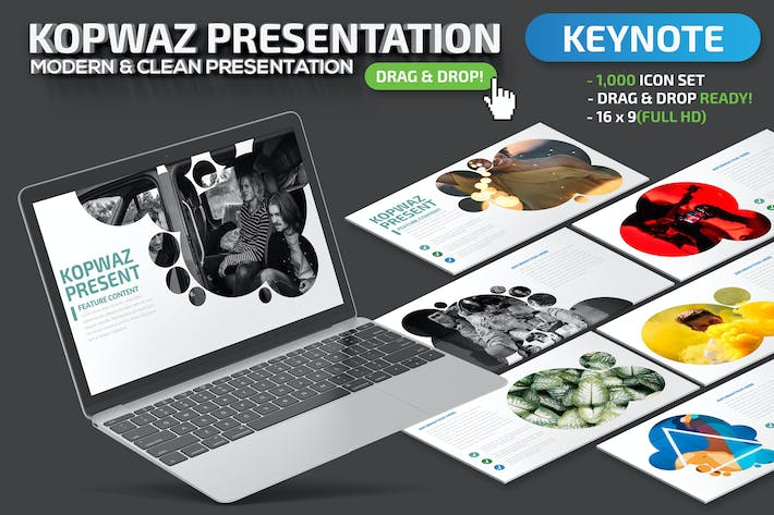 Thumbnail for Kopwaz Keynote Presentation Template