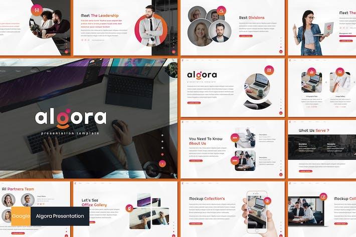 Thumbnail for Algora - Business Google Slides Template