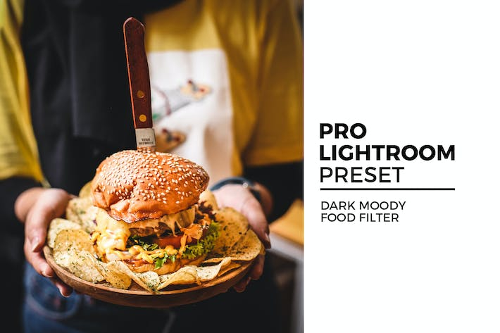Thumbnail for Dark Moody Food Filter