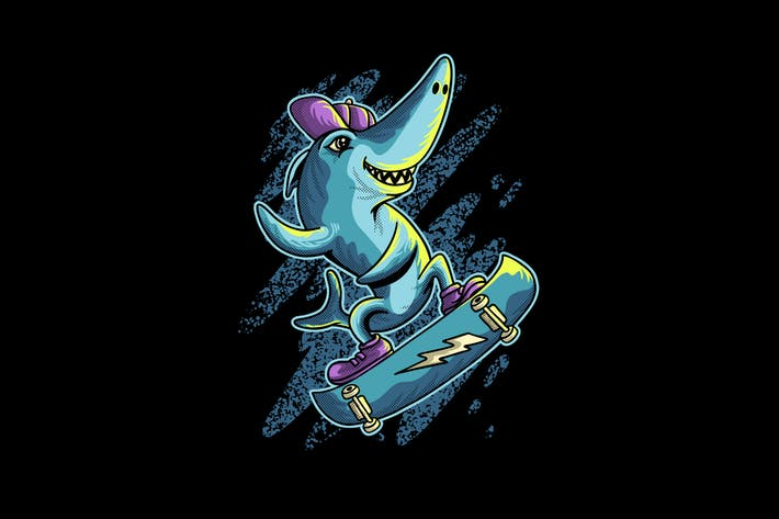Thumbnail for Hai spielt Skateboard