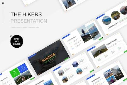 Hikers Presentation Template