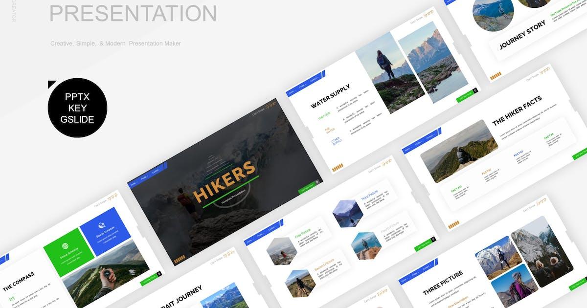 Download Hikers Presentation Template by Fannanstudio
