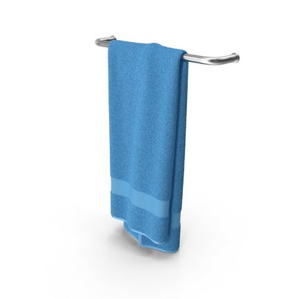 Blau Handtuch