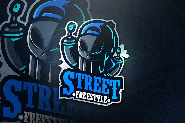 Thumbnail for Street Freestyle - Mascot & Esport Logo