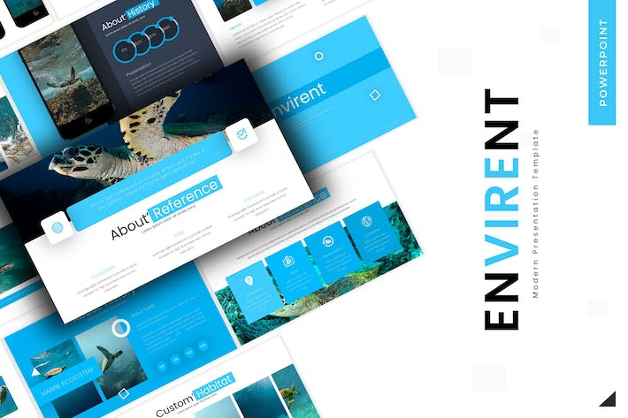 Thumbnail for Envirent - Powerpoint Template