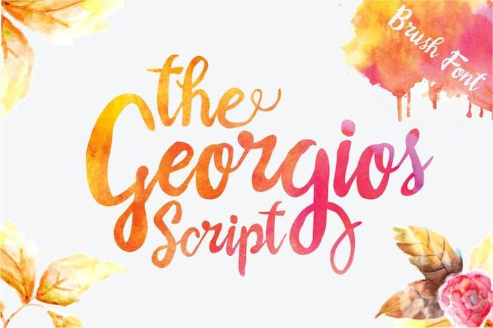 Thumbnail for The Georgios Font