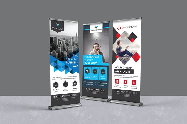 Thumbnail for Business Roll-up Banners