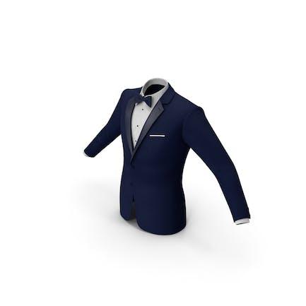 Tuxedo Blaue Jacke