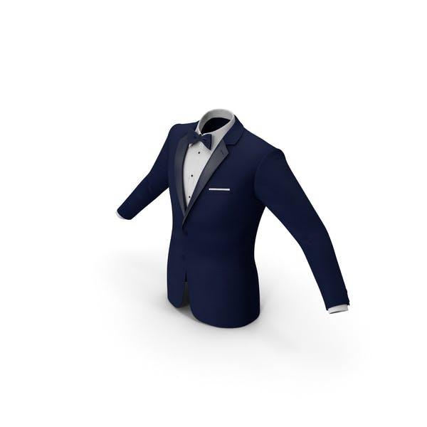 Thumbnail for Tuxedo Blue Jacket