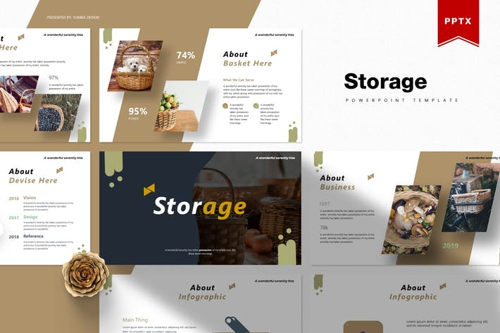 Thumbnail for Storage | Powerpoint Template