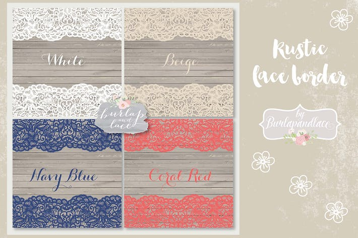 Thumbnail for Lace Navy Blue, Coral red, White vector