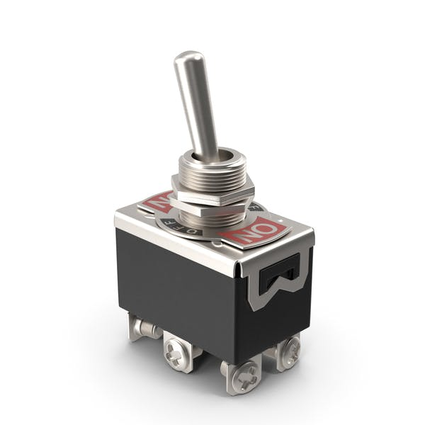 Heavy Duty DPDT Toggle Switch