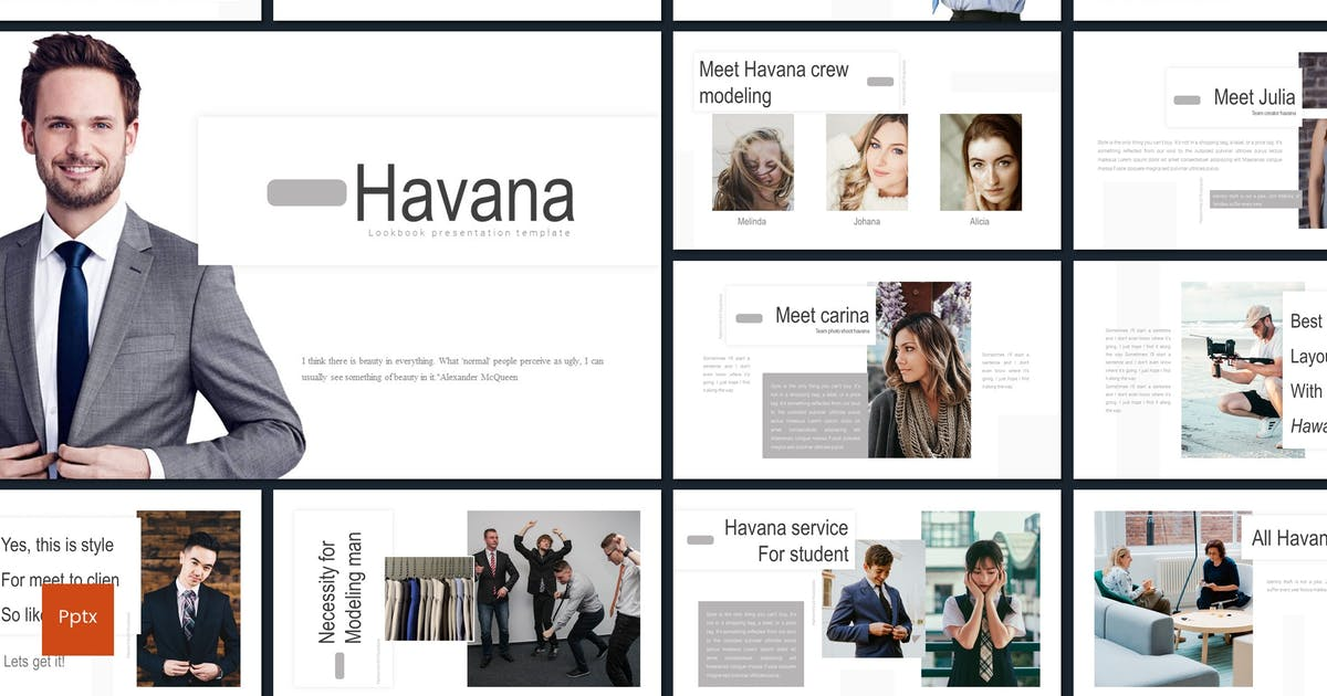 Download Havana - Powerpoint Template by inspirasign