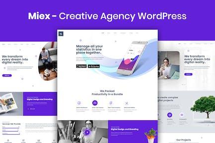 Miex - Creative Agency WordPress