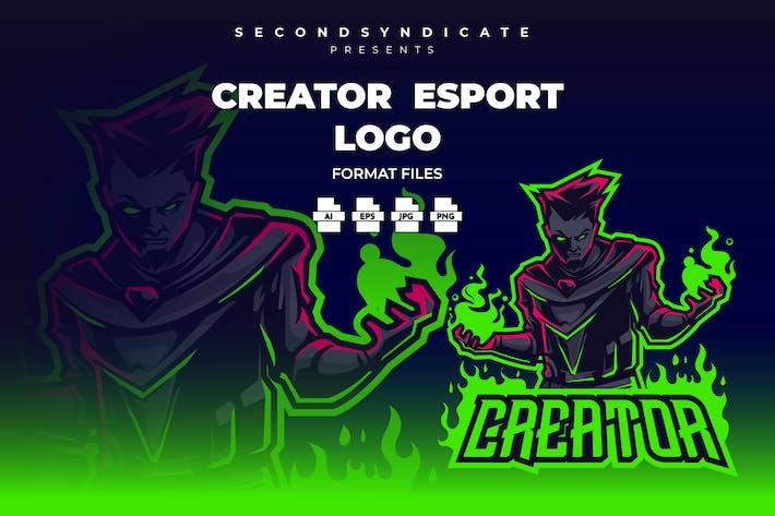 Thumbnail for Создатель - Логотип Esport