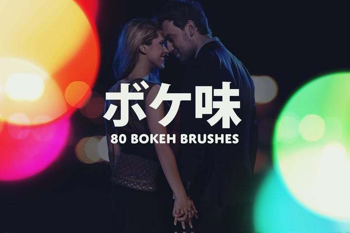 Thumbnail for Boke-Aji – 80 Large Bokeh Brushes