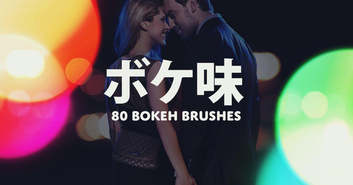 Boke-Aji – 80 Large Bokeh Brushes by sparklestock
