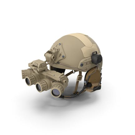 Taktischer Helm Sand Camo