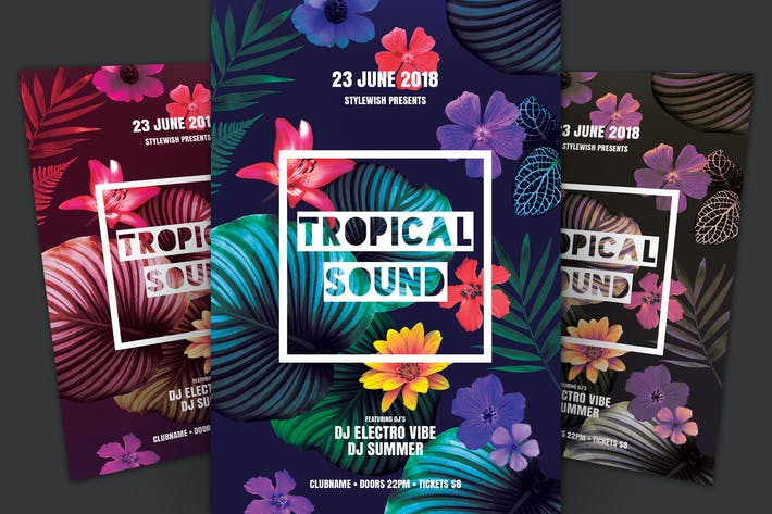 Thumbnail for Tropical Sound Flyer