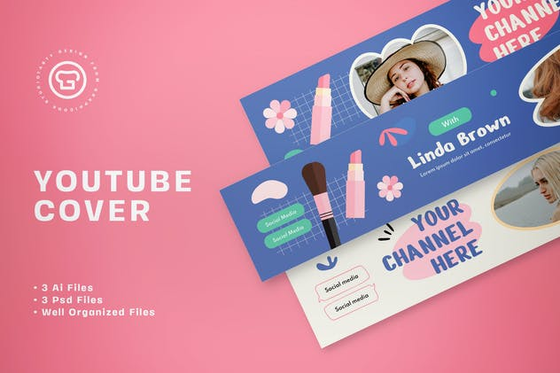 Youtube Cover Beauty Vlogger