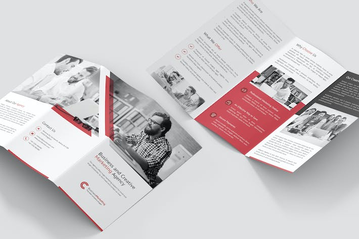 Thumbnail for Brochure – Business Marketing Tri-Fold
