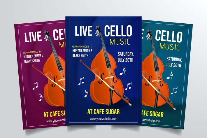 Thumbnail for Cello Live Performance Flyer
