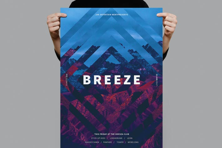Thumbnail for Breeze Poster / Flyer
