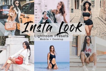 Insta Look - набор Пресеты Lightroom