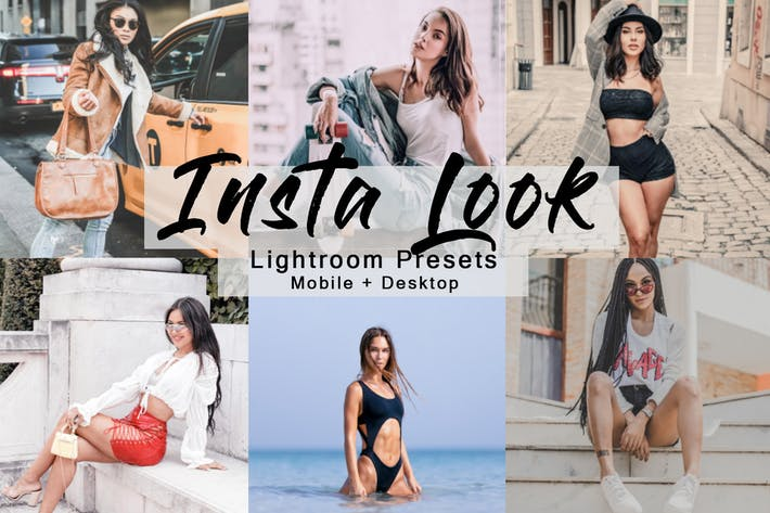 Thumbnail for Insta Look - Lightroom Presets Pack