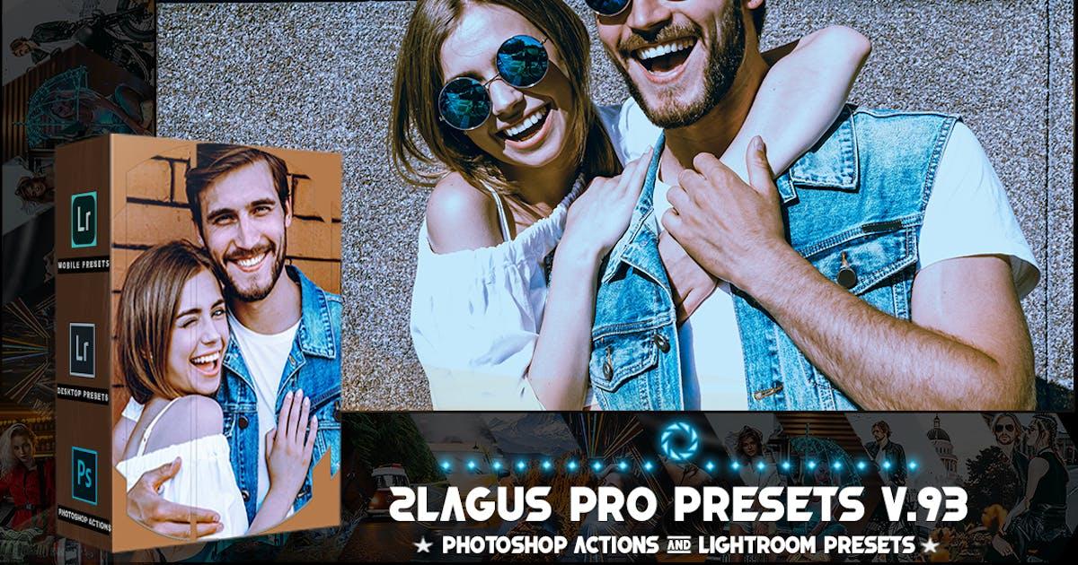 Download PRO Presets - V 93 - Photoshop & Lightroom by 2lagus