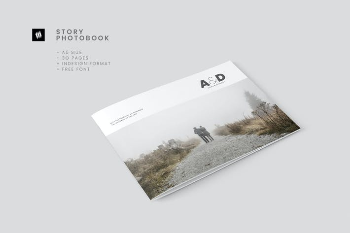 Thumbnail for A5 Minimalist Photobook