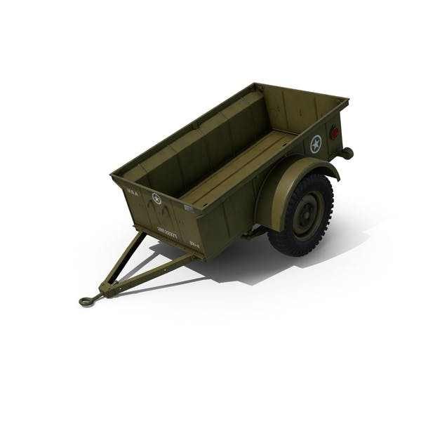 Thumbnail for WW2 Military Jeep Trailer