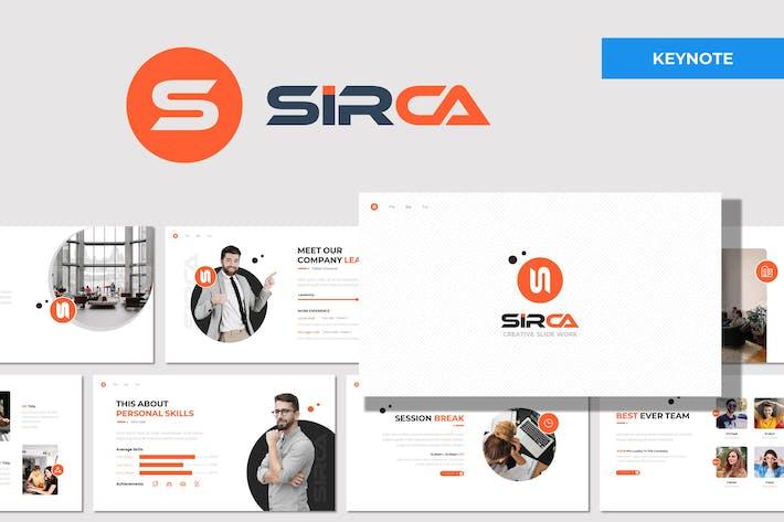 Sirca - Многоцелевой Шаблон Keynote