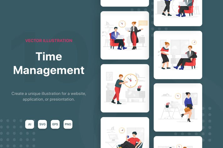 Thumbnail for Time Management Illustrations