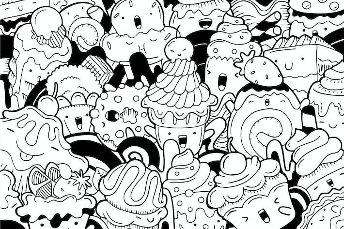 Thumbnail for Sweet Dessert Doodle