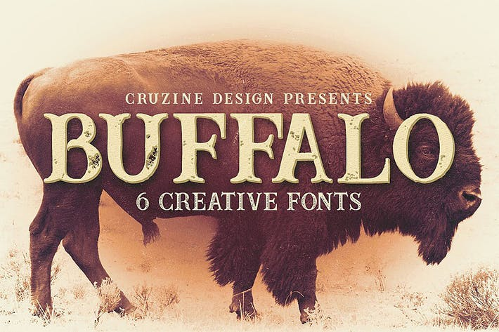 Thumbnail for Buffalo Typeface